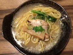 串かつ串てんいち吉鶏白湯ラーメン