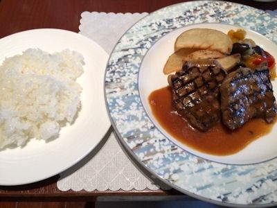 リヴィエール牛ロース肉のグリル