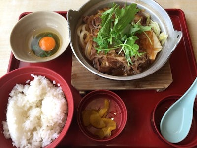 ジョイフルすき焼き鍋定食