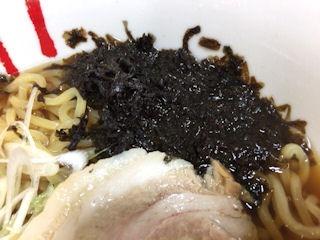 函館麺工房嵐函館干しのり醤油ラーメン