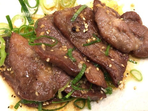 なか卯牛タン定食