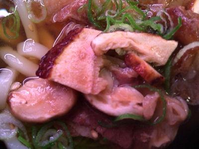 スシロー松茸と牛肉のおうどん