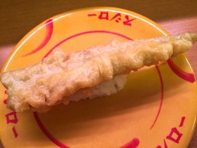 スシロー穴子天ぷらにぎり