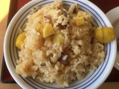 加古川北在家食堂栗とさつま芋の炊込みごはん