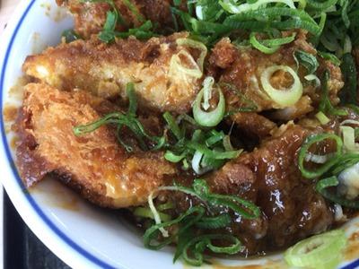 かつや鶏つくね味噌カツ丼