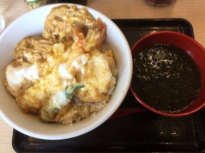 天丼・天ぷら本舗さん天海老天とじ丼