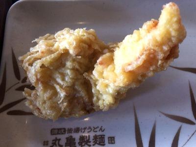 丸亀製麺かしわ天