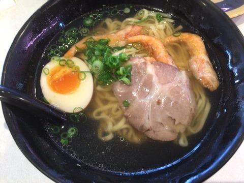 はま寿司冬のとろ三昧フェア釧路風北海魚介の塩ラーメン