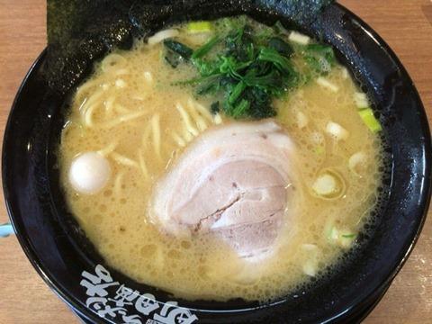 横浜家系ラーメン町田商店塩ラーメン