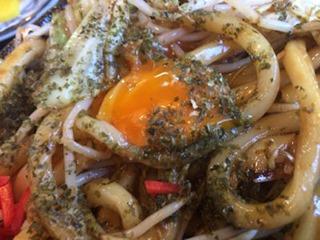 池田製麺所真心うどん焼うどん定食