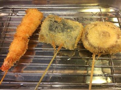 串カツ麺酒場串めんずの串カツ