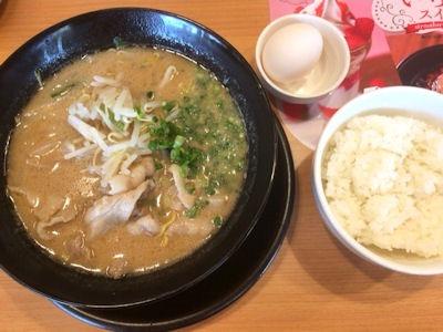 Cafeレストランガスト徳島ラーメンご飯セット