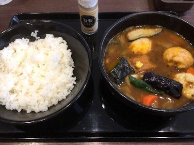 カレーハウスCoCo壱番屋ベジタブルスープカレー