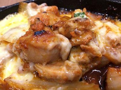 浪花焼肉肉タレ屋チーズタッカルビ定食