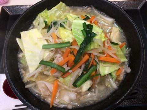 ごはんどき野菜タンメン野菜増し