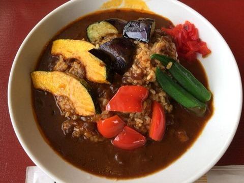 加古川北在家食堂スタミナ夏野菜カレー