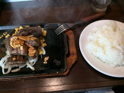 いきなりステーキ乱切りカットステーキ