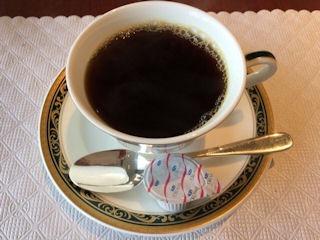 カジュアルダイニングリヴィエール食後のコーヒー