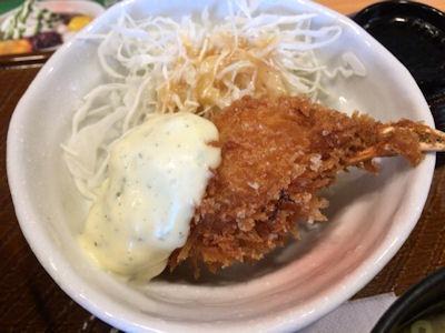 Cafeレストラン ガスト北海道帯広豚丼と紅ズワイガニのクリームコロッケ膳