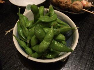 酒家山葵枝豆