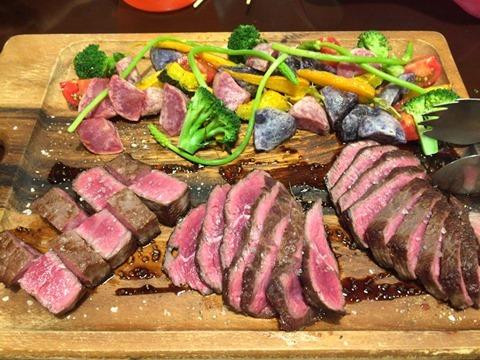 益田食堂幻の木下牛ステーキ