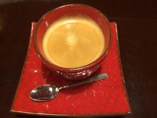 益田食堂食後のコーヒー