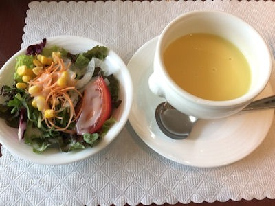 カジュアルダイニングリヴィエールコーンクリームスープ