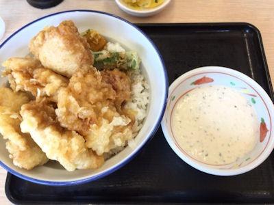 天丼・天ぷら本舗さん天チキン南蛮天丼