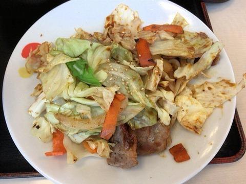 松屋回鍋肉定食