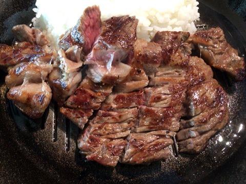 いきなりステーキステーキカレー