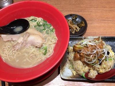 大衆麺食堂きんとら金虎らー麺日替りランチ
