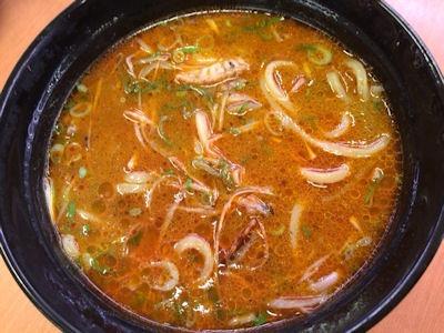 スシローてんこ盛り祭ほたての黒ごま担々麺