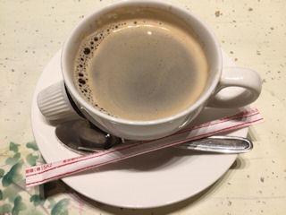 京懐石輝髙2019年葉月食後のコーヒー