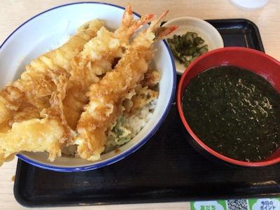 天丼・天ぷら本舗さん天活〆真穴子と海老の天丼