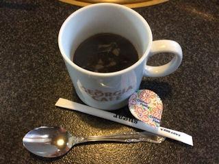 志方亭食後のコーヒー