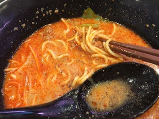 はま寿司濃厚冷やし担々麺