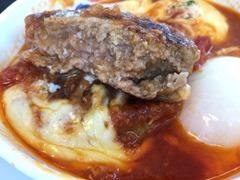 松屋うまトマチーズハンバーグ定食
