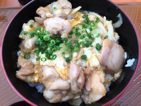 からあげ専門店から好し九州産桜姫鶏の親子丼