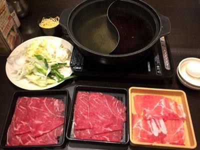 しゃぶ葉お野菜食べ放題牛&三元豚セット