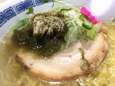 釧路拉麺はま虎釧路とろろ昆布塩ラーメン