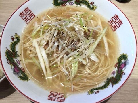 博多金龍ネギ豚上湯麺