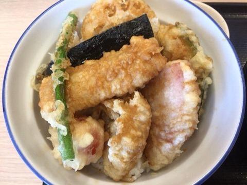 天丼・天ぷら本舗さん天豚×豚×豚天丼