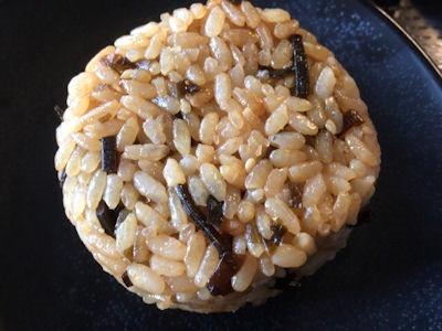 丸亀製麺茶めし(昆布)