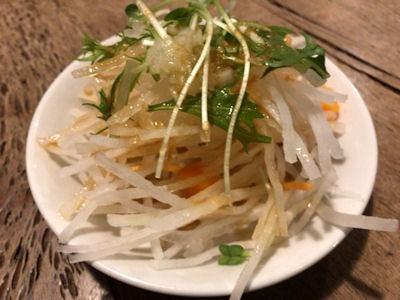 ファーマーズ・キッチン・イヌイットセットメニューの大根サラダ