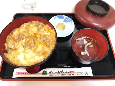 秋田比内や比内地鶏親子丼