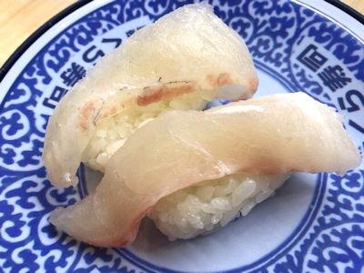くら寿司くえvs桜鯛フェア厚切り桜鯛
