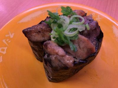 スシロー黒毛和牛祭宮崎県産若鶏の炭火焼き