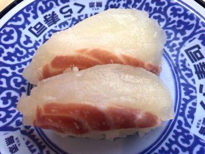 くら寿司桜鯛vsサーモンフェア厚切り桜鯛