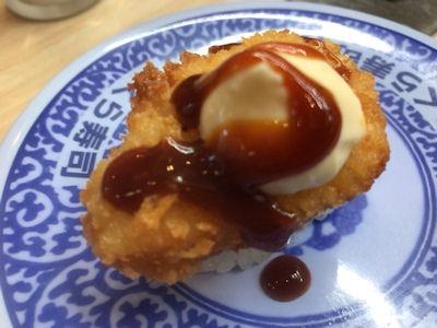 くら寿司肉vsとろフェアチキンソースカツ