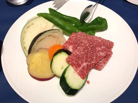 ロテルド比叡ディナー京都産京の肉と季節のお野菜